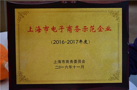 互联网+飞洋留学网荣获上海电商示范企业