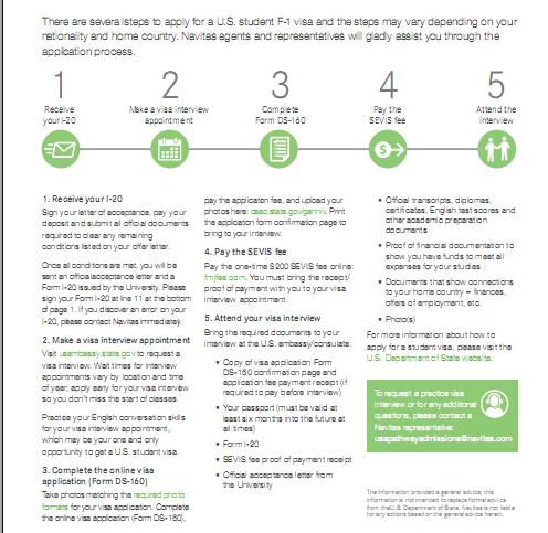 美国留学生如何申请美国签证