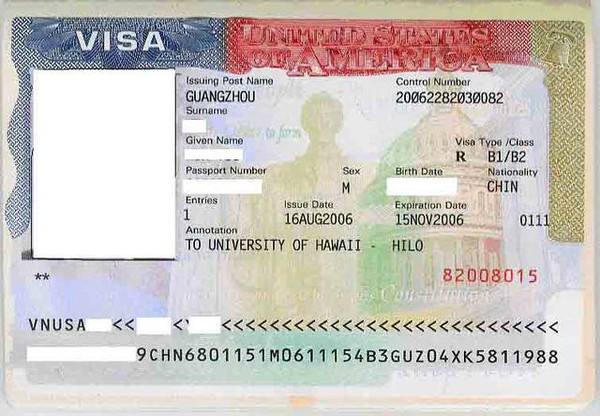 2017申请美国非移民签证需要注意的事项