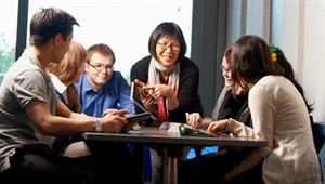9月20日新西蘭懷卡托大學校代Kathy Liu將到訪柳橙網進行研討交流